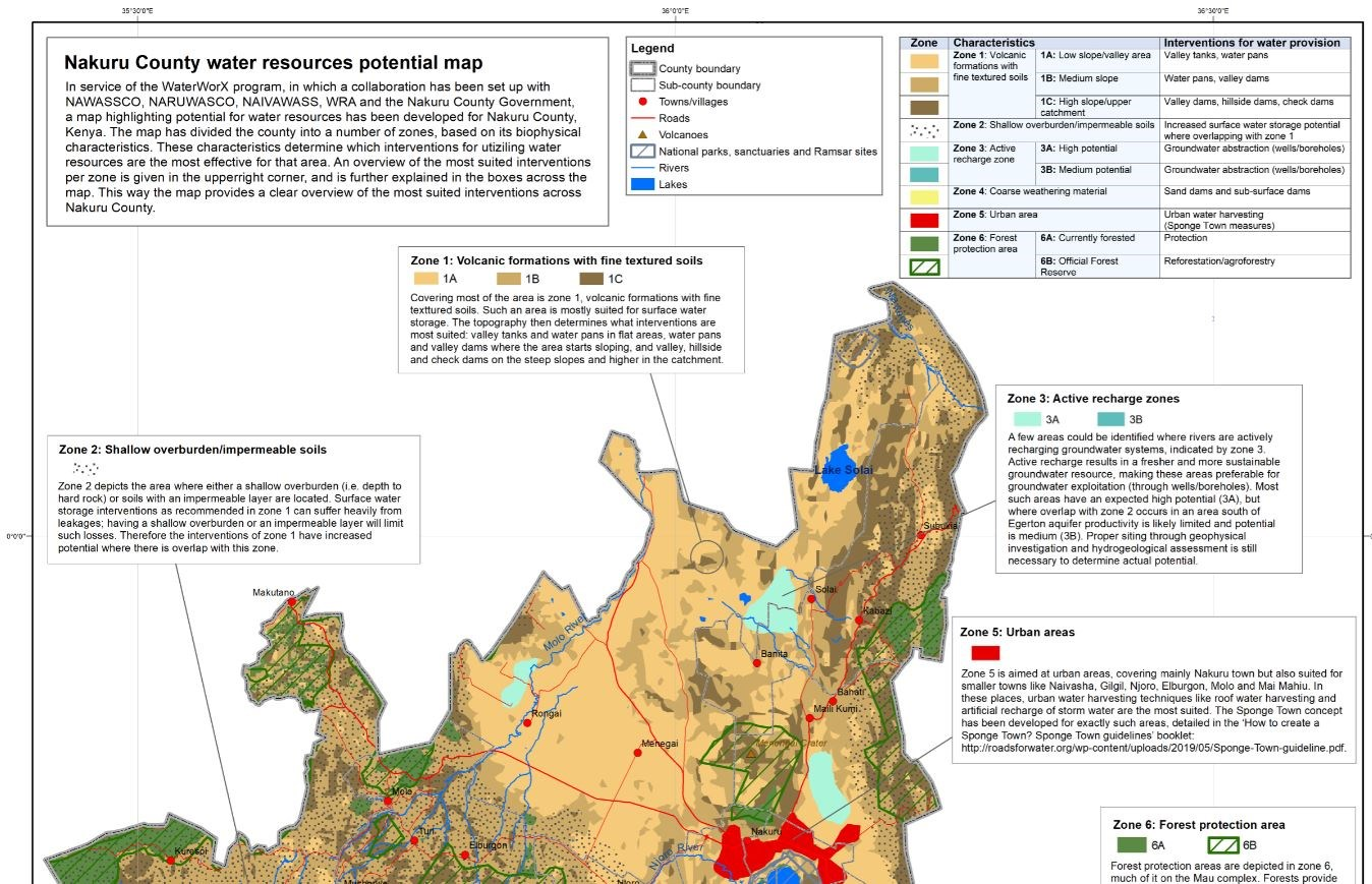 Acacia Water's potential map enlightens water resources