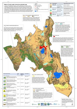Water resources potential map Nakuru County 2019