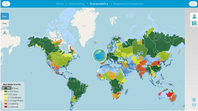 Water Footprint Assessment Tool