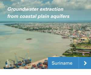 Groundwater model Suriname